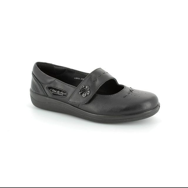Padders Libra 238-38 Black patent comfort shoes