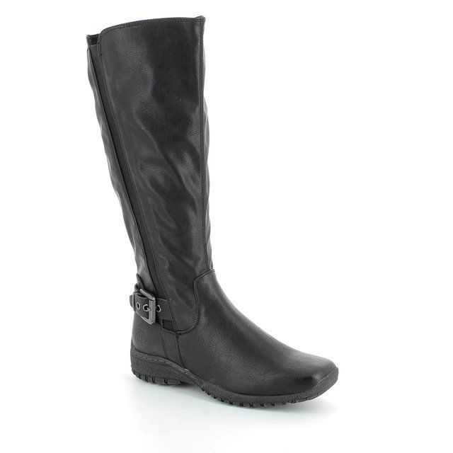 Marco Tozzi Nivalong 25622-002 Black long boots