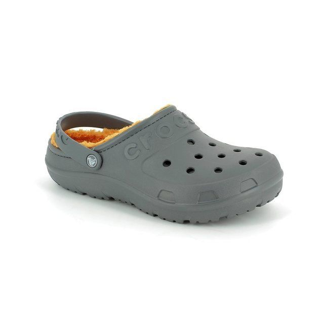 Crocs Mixed Gender - Charcoal - 16151/0U2 HILO LINED