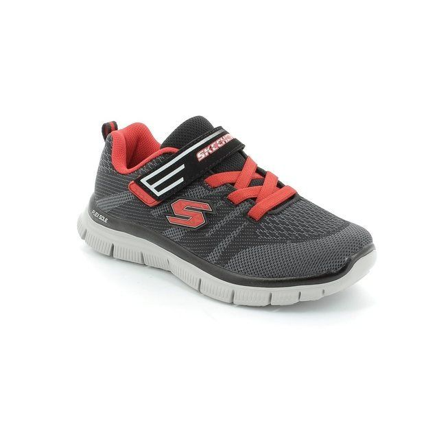 Skechers Boys Shoes - Black-red combi - 95523/33 MASTERMIND MF