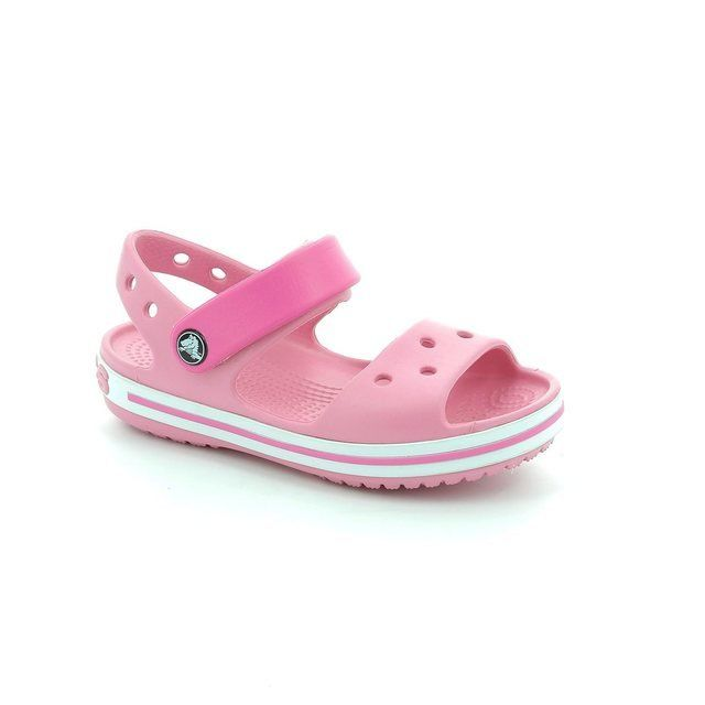 Crocs Girls Sandals - Pink multi - 12856/604 CROCBAND KIDS