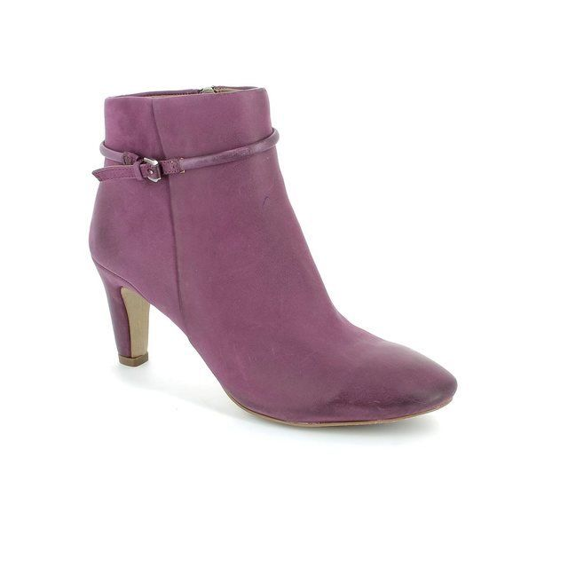 ECCO Boots - Ankle - Aubergine - 355223/2113 LINDON