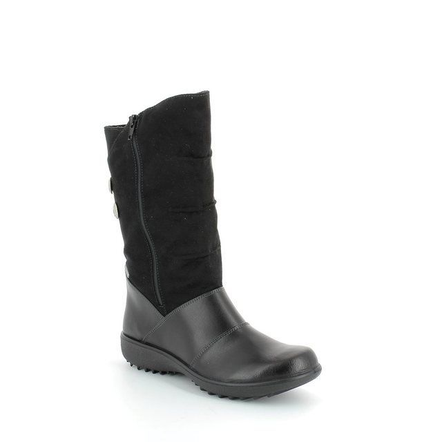 Romika Nadja 35117-83100 Black long boots