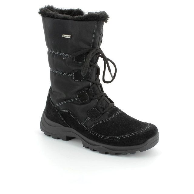 Rohde Renn 9364-90 Black winter boots