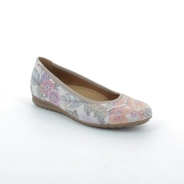Gabor Splash Flor 62.620.38 Floral print pumps