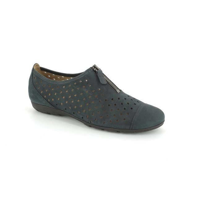 Gabor Everyday Shoes - Navy nubuck - 44.164.16 GIBSON