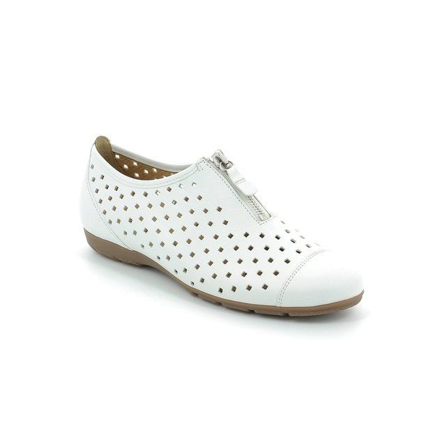 Gabor Gibson 44.164.21 White comfort shoes