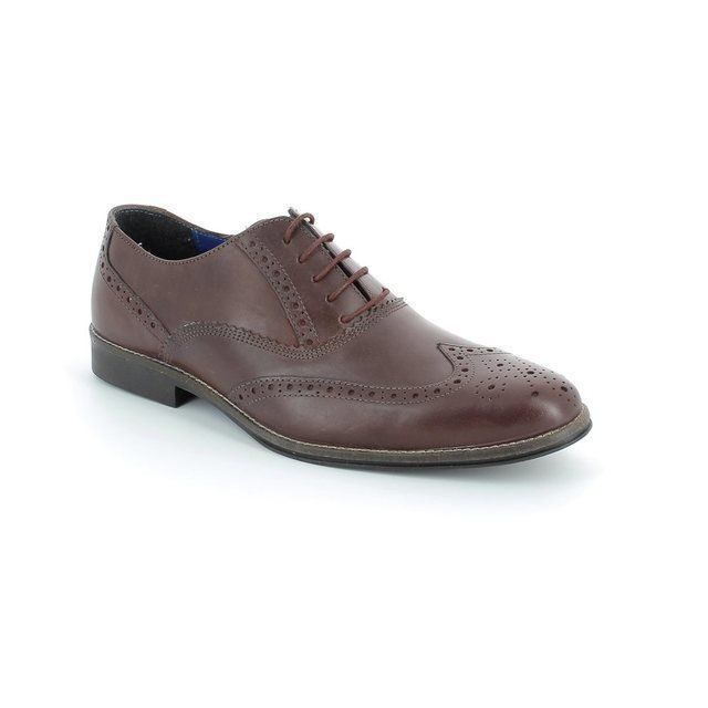 Red Tape Shoes - Dark Red - 1848/66 KILDARE