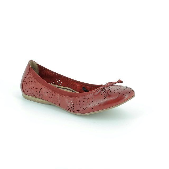 Tamaris 22132-533 Red pumps