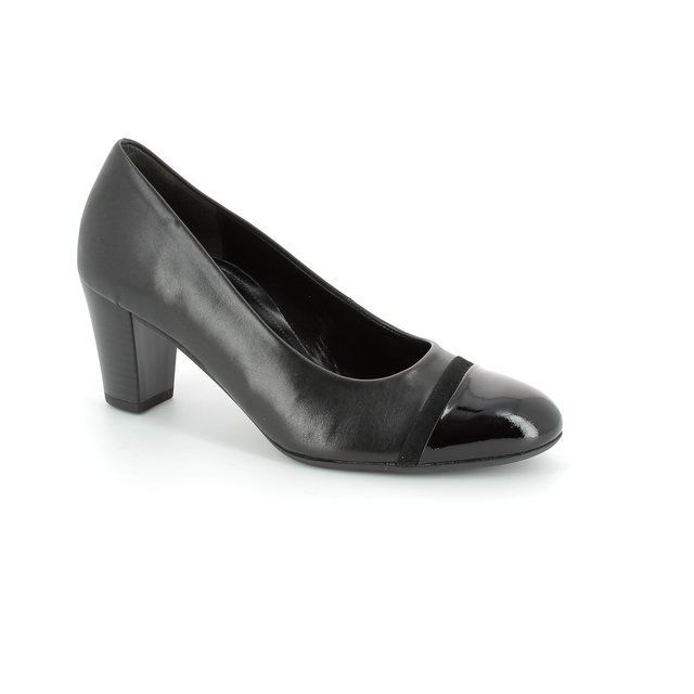 Gabor Deal 42.162.57 Black patent heeled shoes