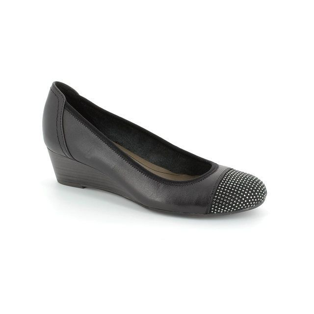 Tamaris Heeled Shoes - Black - 22308/001 QUIVERDIA