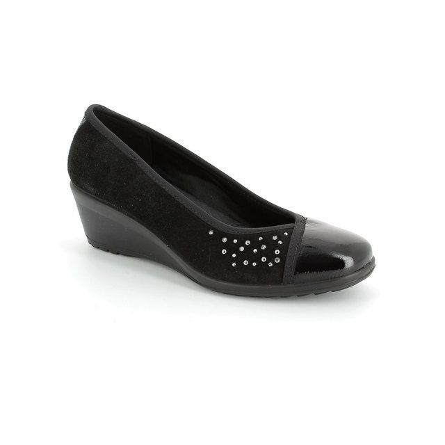 IMAC Heeled Shoes - Black patent/suede - 51860/4200011 AMBRADIA