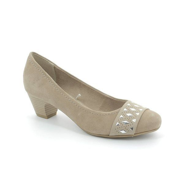 Marco Tozzi Astrata 22301-341 Beige heeled shoes