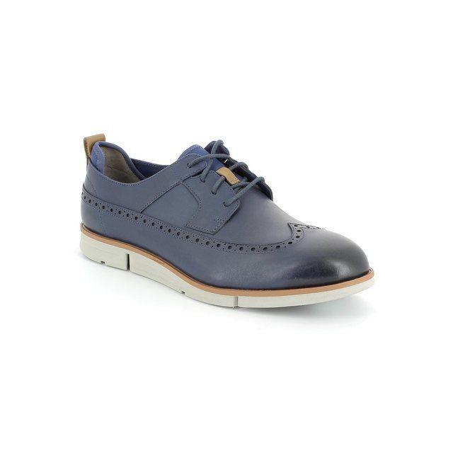 Clarks Trigen Limit G Fit Blue casual shoes