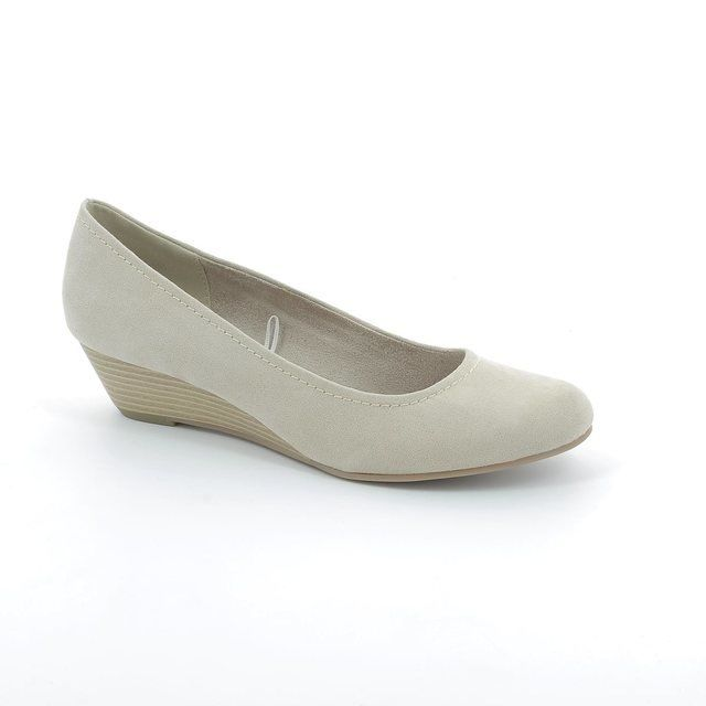Marco Tozzi Biwaq 22302-405 Light taupe heeled shoes