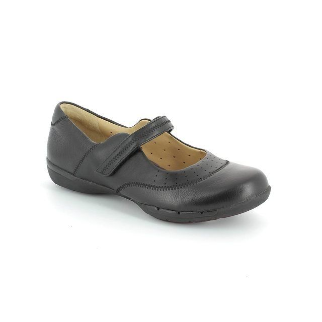 Clarks Un Hazel Black comfort shoes