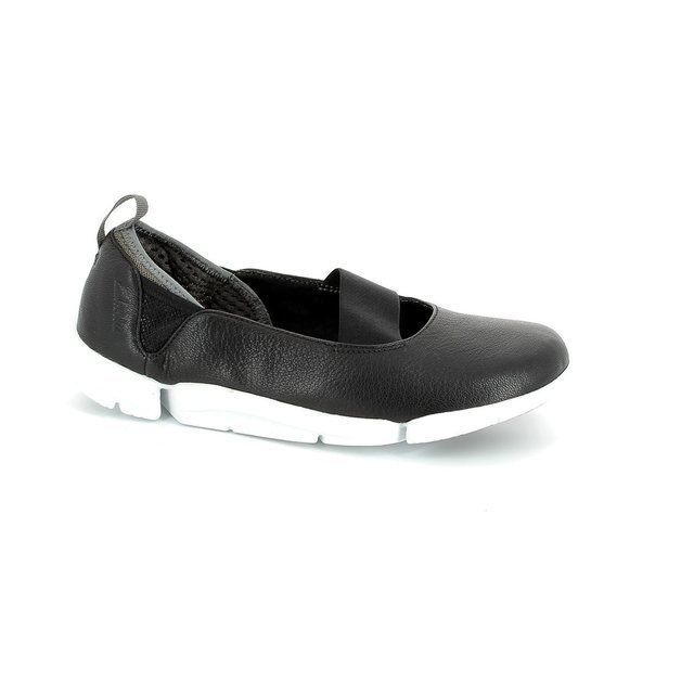 Clarks Everyday Shoes - Black - 1772/54D TRI STEP