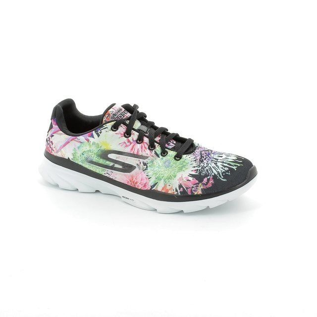 Skechers Trainers & Canvas - Black multi - 14091/33 GO FIT TR