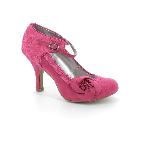 Ruby Shoo Anna 08896-66 Fuchsia high-heeled shoes