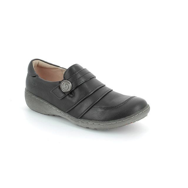 Heavenly Feet Hosta 3 5004-30 Black comfort shoes