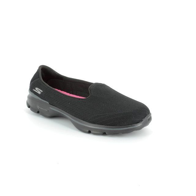 Skechers Trainers & Canvas - Black - 13983/33 GO WALK 3 LOCU