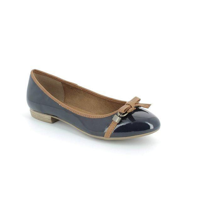Marco Tozzi Pumps & Ballerinas - Navy-Tan - 22138/890 LISIT 61