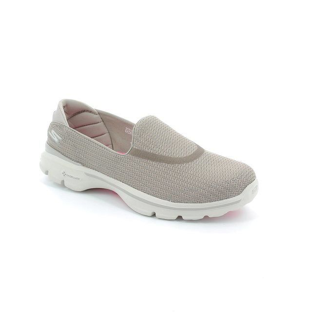 Skechers Trainers & Canvas - Stone - 13980/02 GO WALK 3