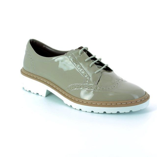 Ara Portland 2260006-09 Nude Patent lacing shoes