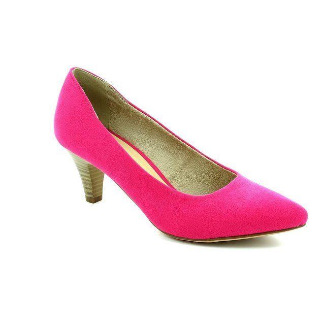 Tamaris 22475-513 Fuchsia high-heeled shoes