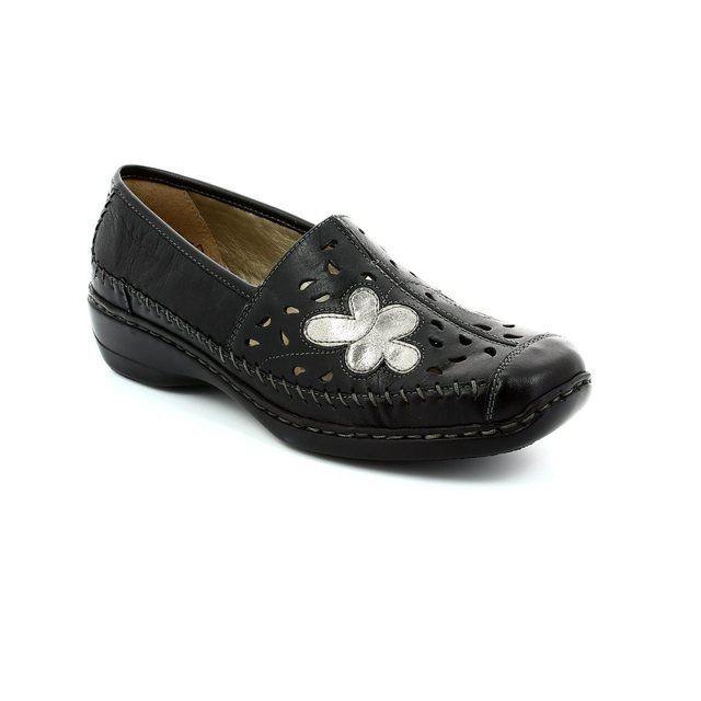 Remonte D1616-01 Black multi comfort shoes