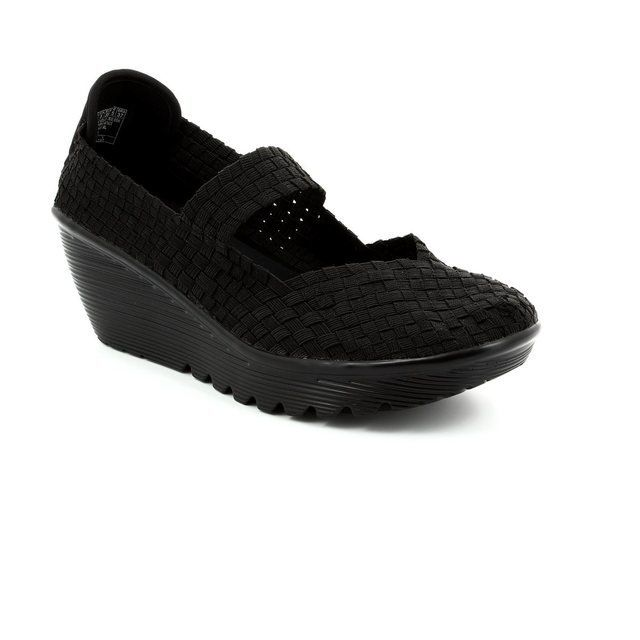 Skechers Trainers & Canvas - Black - 38450/30 DREAM WEAVER