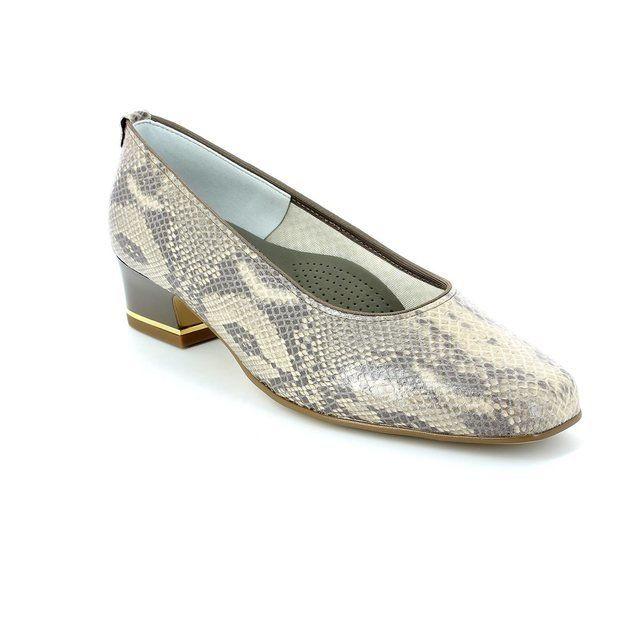 Ara Graco 1221859-02 Beige multi heeled shoes