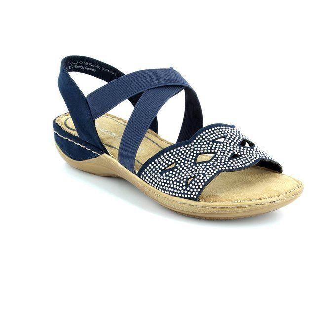 Marco Tozzi Tango 61 28902-805 Navy sandals