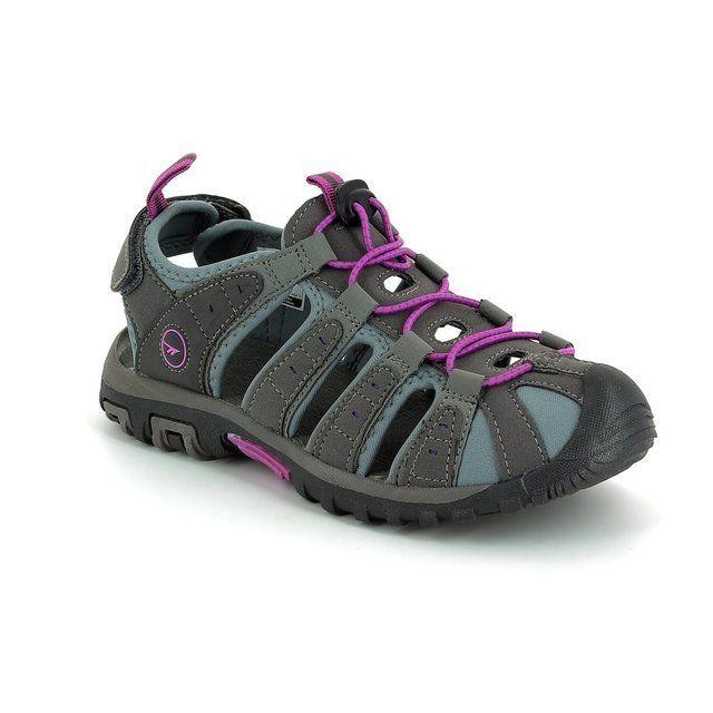 Hi-Tec Shore Sandal 2568-58 Charcoal sandals