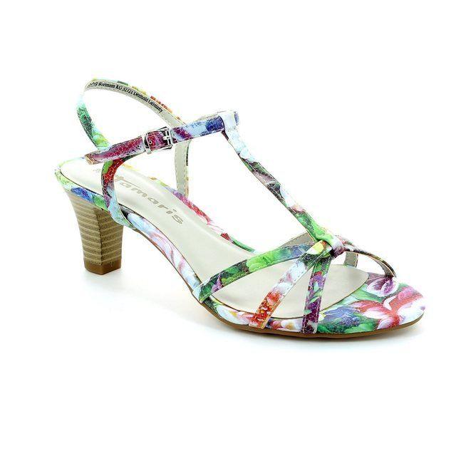 Tamaris Aurea 28329-990 Floral print sandals