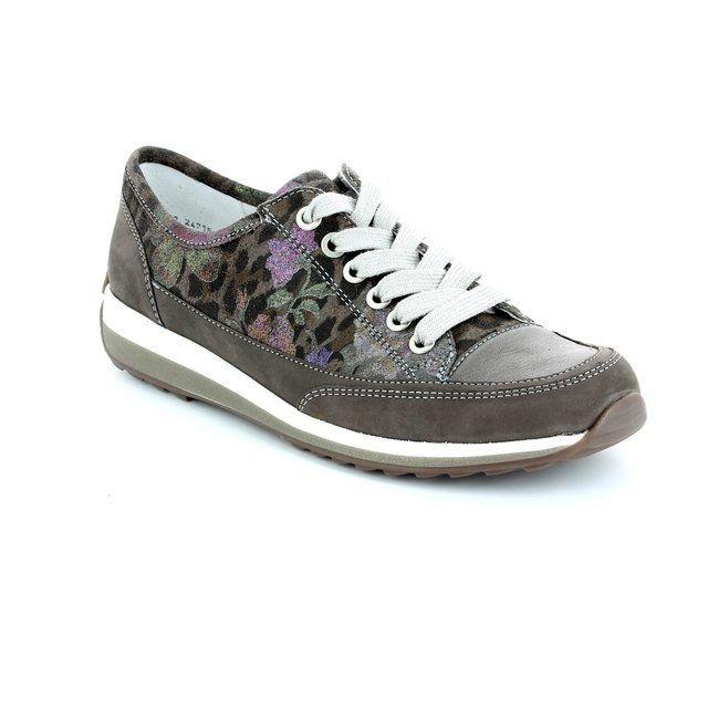 Ara 1224715-43 Taupe multi lacing shoes