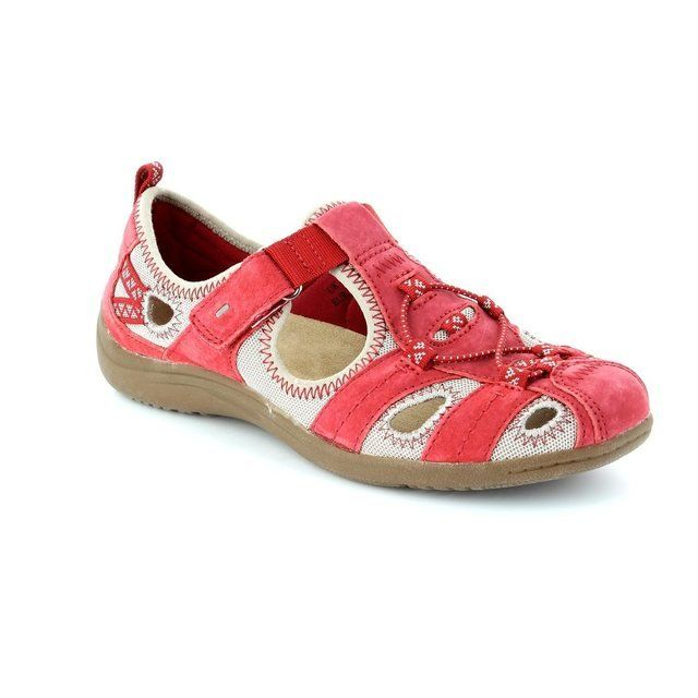 Earth Spirit Wichita 52 21009-80 Red lacing shoes