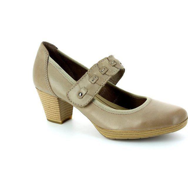Marco Tozzi Barsabar 24415-335 Taupe heeled shoes