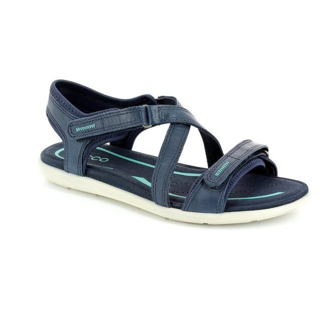 ECCO Blumasan 249203-01038 Navy sandals