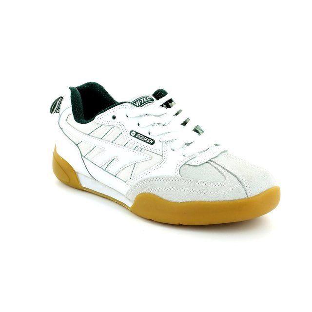 Hi-Tec Trainers & Canvas - White - 0044/89 SQUASH