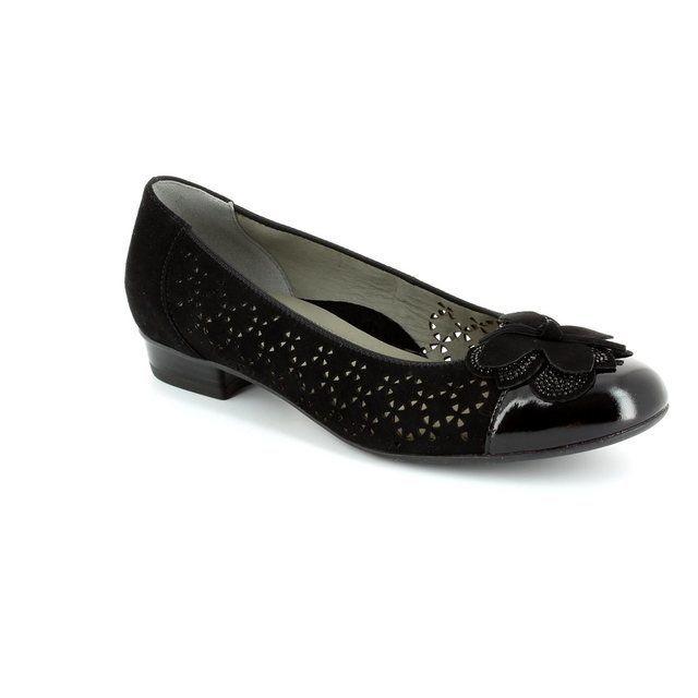Ara Pumps & Ballerinas - Black patent/suede - 1233762/01 BARIBOP