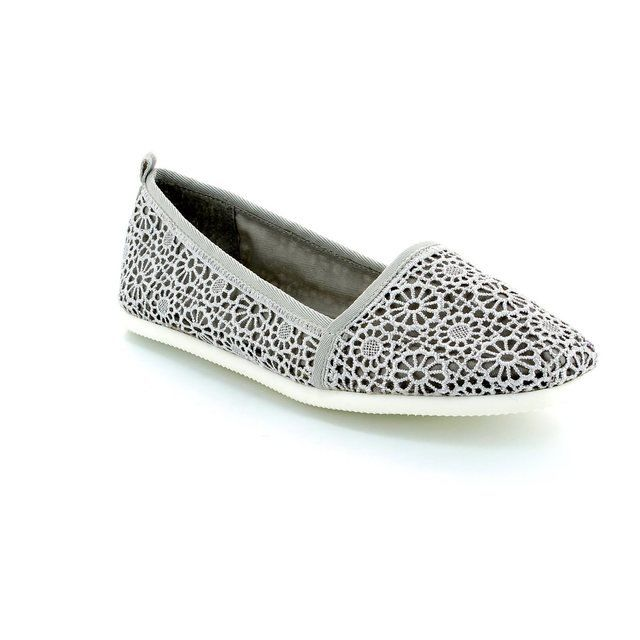 Tamaris Macrato 24618-217 Light Grey pumps