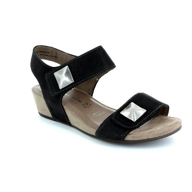 Tamaris 28201-001 Black sandals
