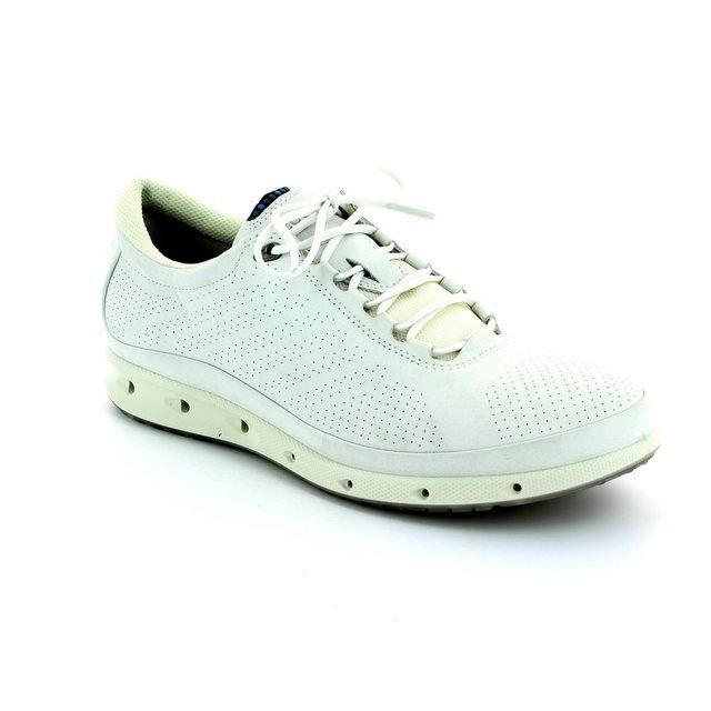 ECCO Exhale Gore Su 831303-01007 White lacing shoes