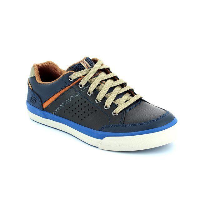 Skechers Diamondback 64666 NVY Navy fashion shoes