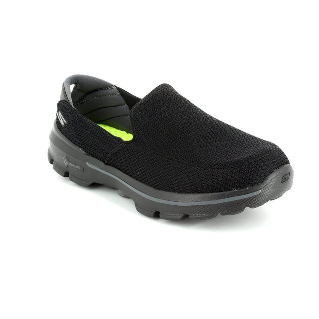 Skechers Trainers & Canvas - Black - 53980/30 MENS GO WALK 3