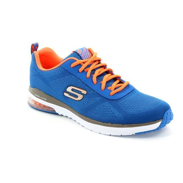 Skechers M Skechair Mf 51480 BLU Blue trainers