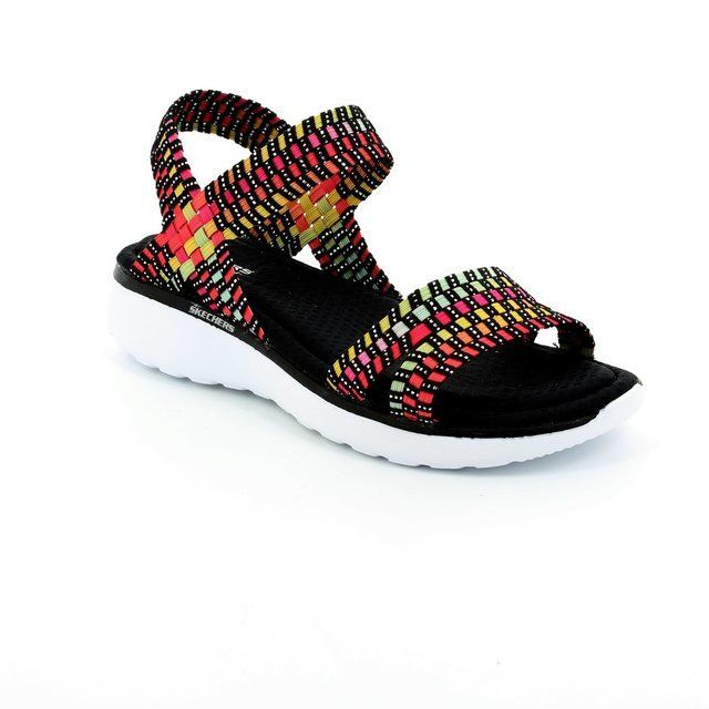 Skechers Counterpart 38597 BKM Black multi sandals