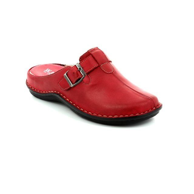 Walk in the City Slippers & Mules - Red - 4988/31880 LAGOLI