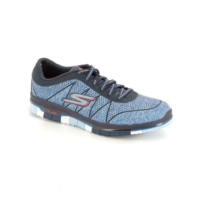 Skechers Go Flex Lace 14011 NVBL Navy-Blue trainers